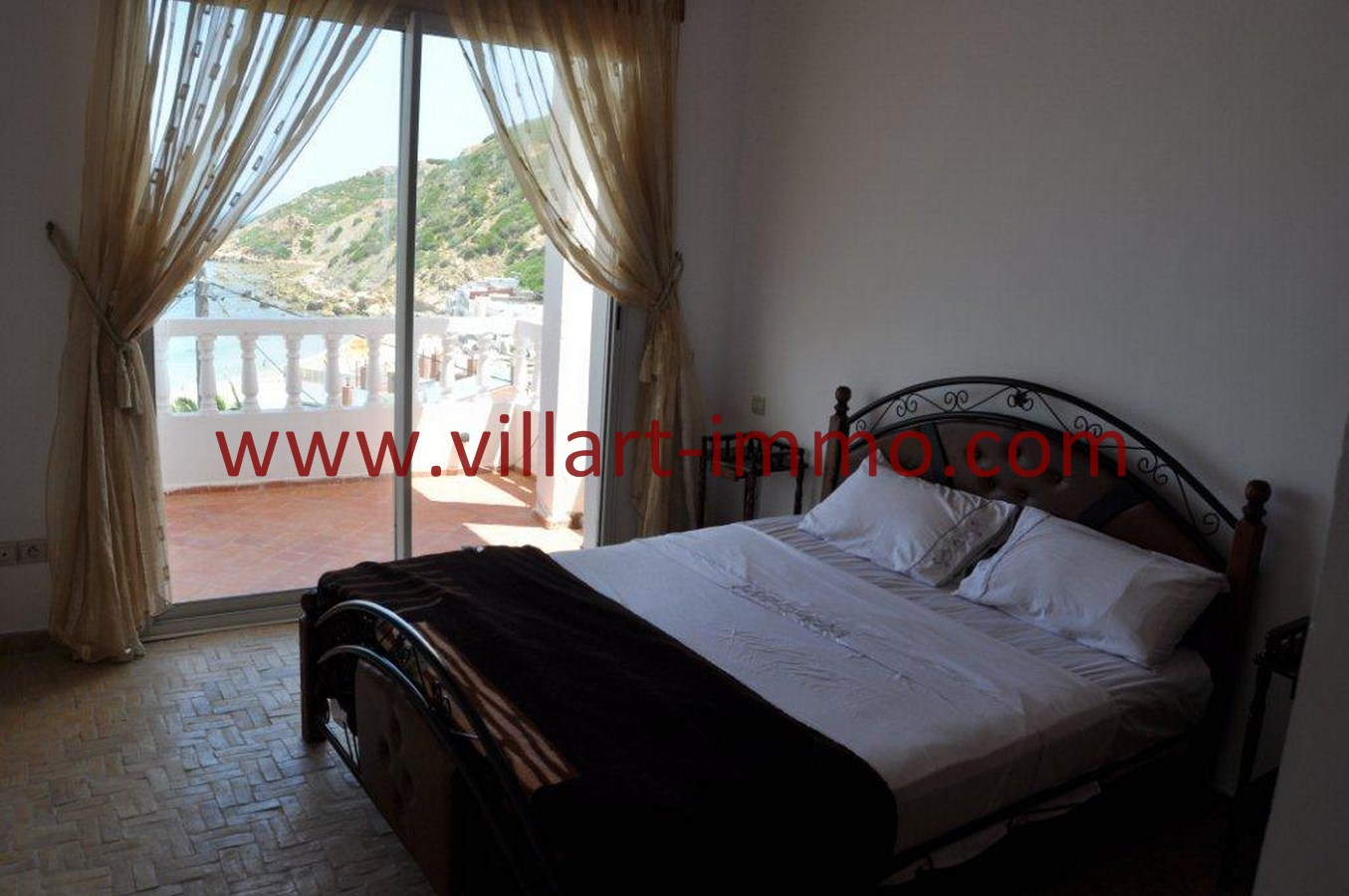 9-Vente-Villa-Tanger-Playa blanca-Chambre à coucher 2 -VV551-Villart Immo