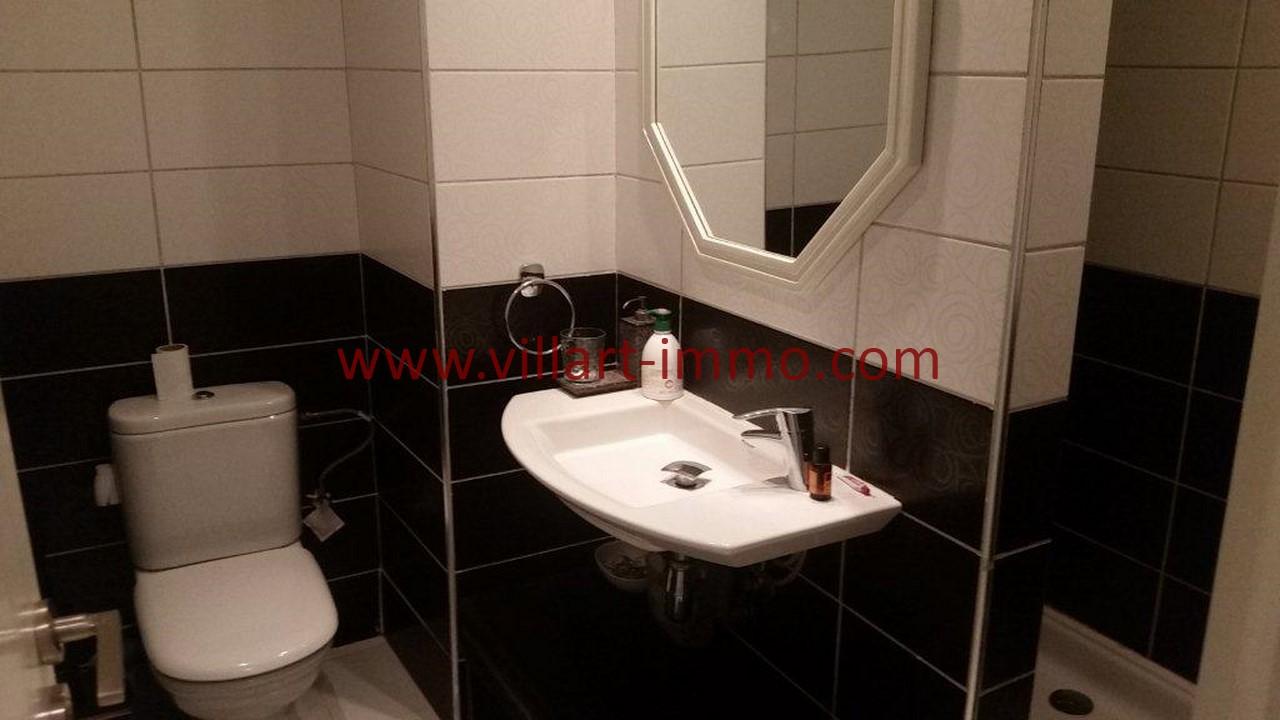 10-Location meublée-Appartement Moderne-Tanger- Ibéria-Salle de bain 1-L1106