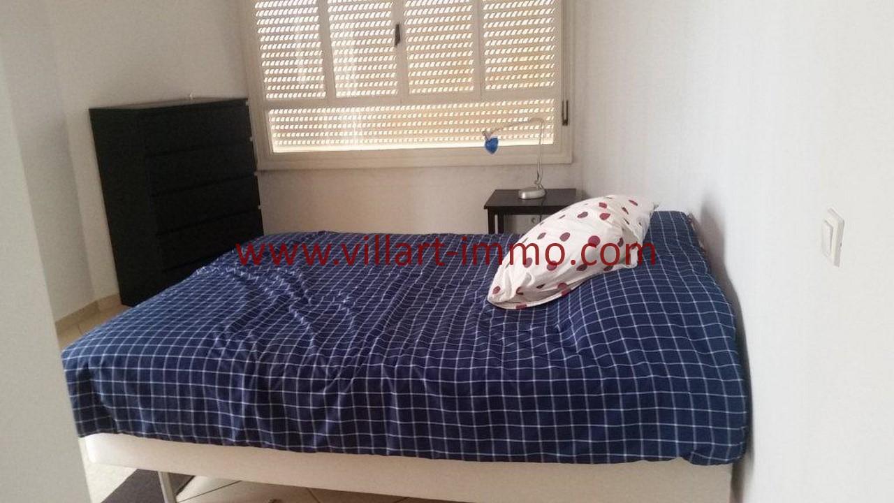 11-Location meublée-Appartement Moderne-Tanger- Ibéria-Chambre 1-L1106