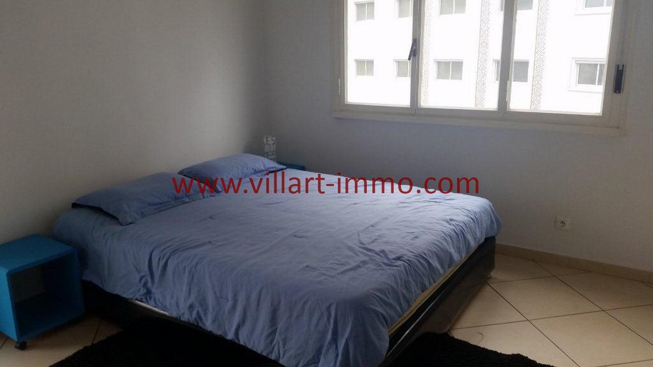 12-Location meublée-Appartement Moderne-Tanger- Ibéria-Chambre 2-L1106