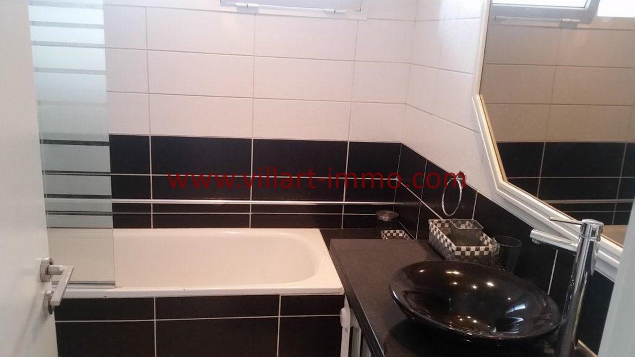 13-Location meublée-Appartement Moderne-Tanger- Ibéria-Salle de bain 2-L1106