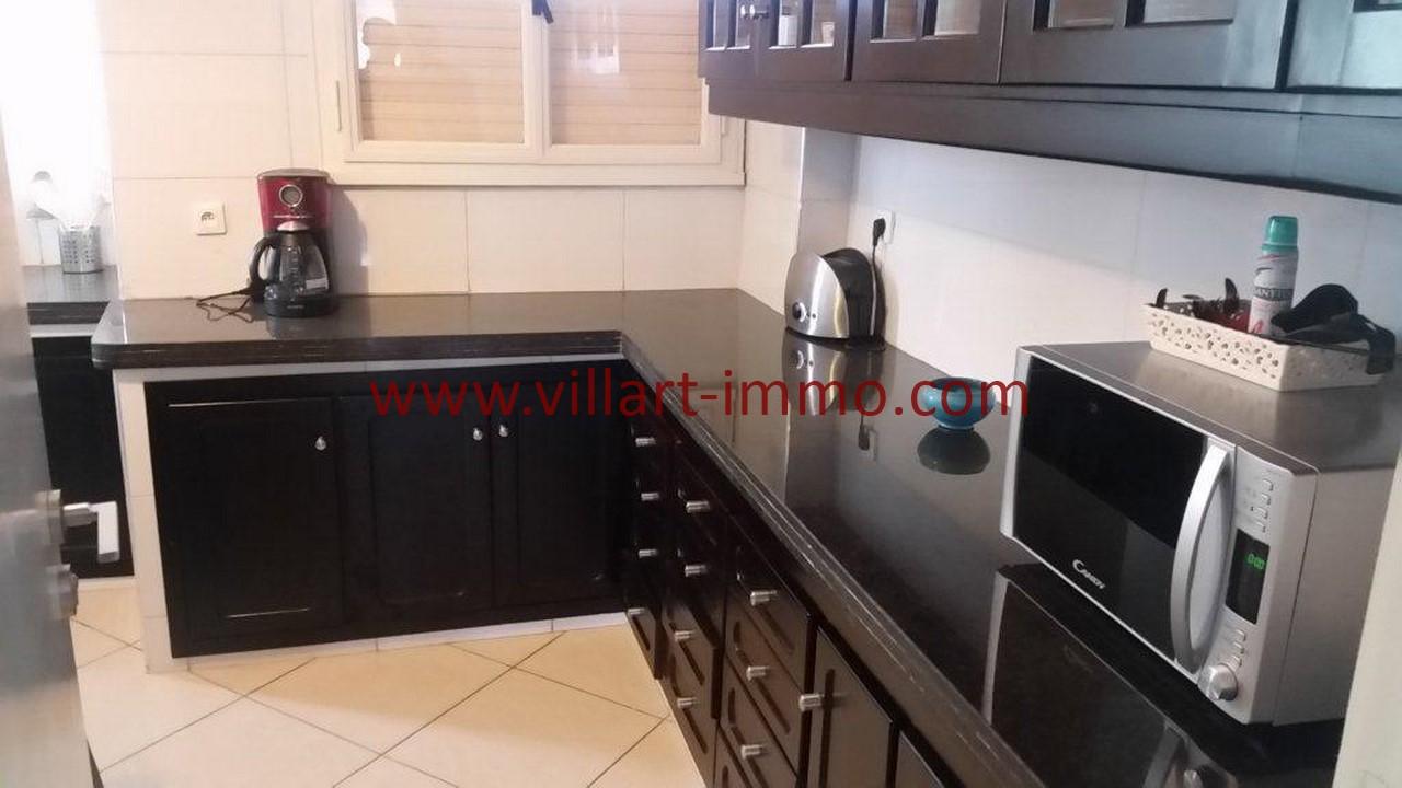 5-Location meublée-Appartement moderne-Tanger- Ibéria-Cuisine-L1106