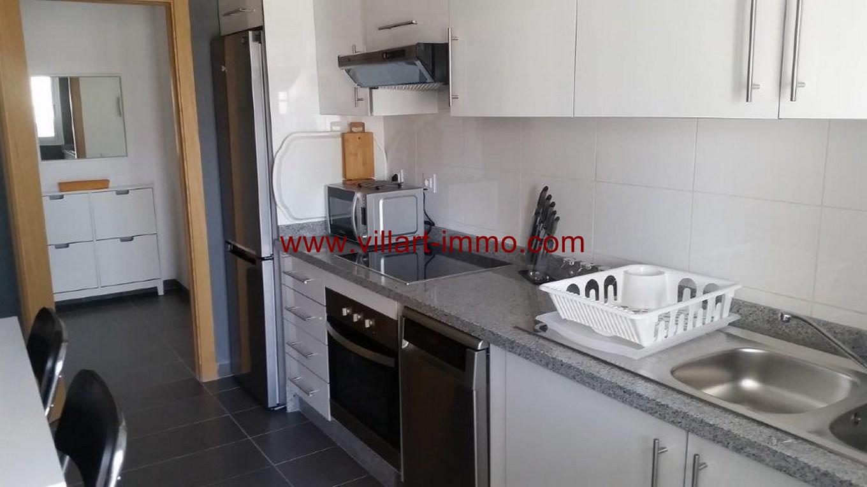 6-Location-Appartement-Meublé-Centre ville-F2-Cuisine-Agence Immobilier-Tanger-L1045