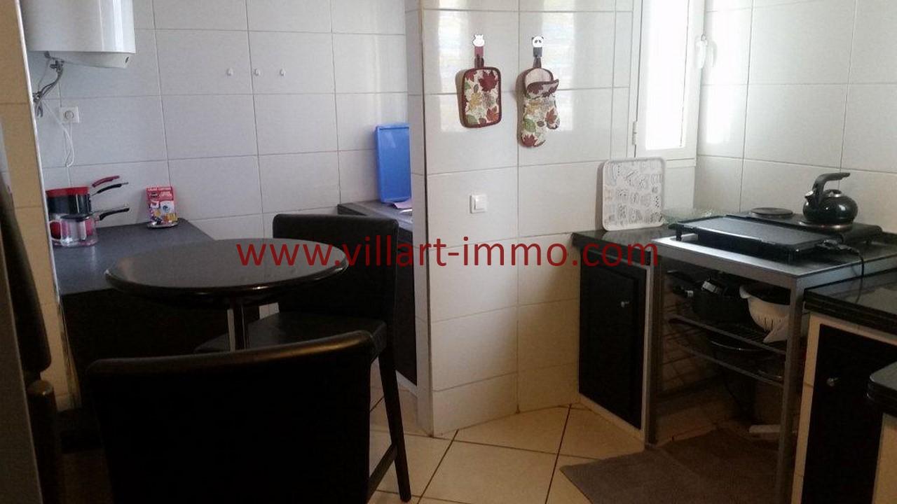 6-Location meublée-Appartement moderne-Tanger- Ibéria-Cuisine-L1106