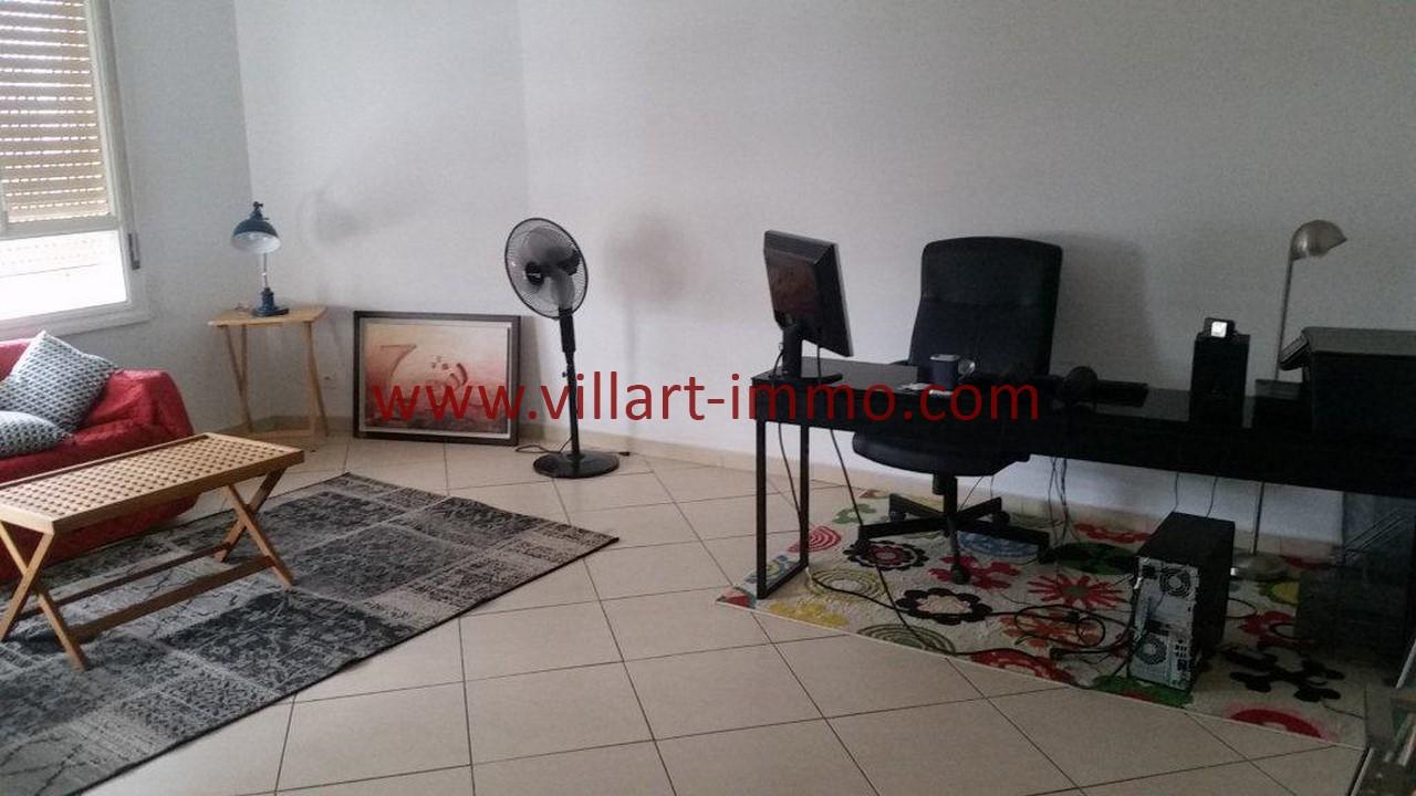 7-Location meublée-Appartement moderne-Tanger- Ibéria-Bureau-L1106