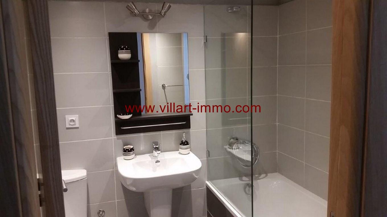 8-Location-Appartement-Meublé-Centre ville-F2-Salle de bain-Agence Immobilier-Tanger-L1045