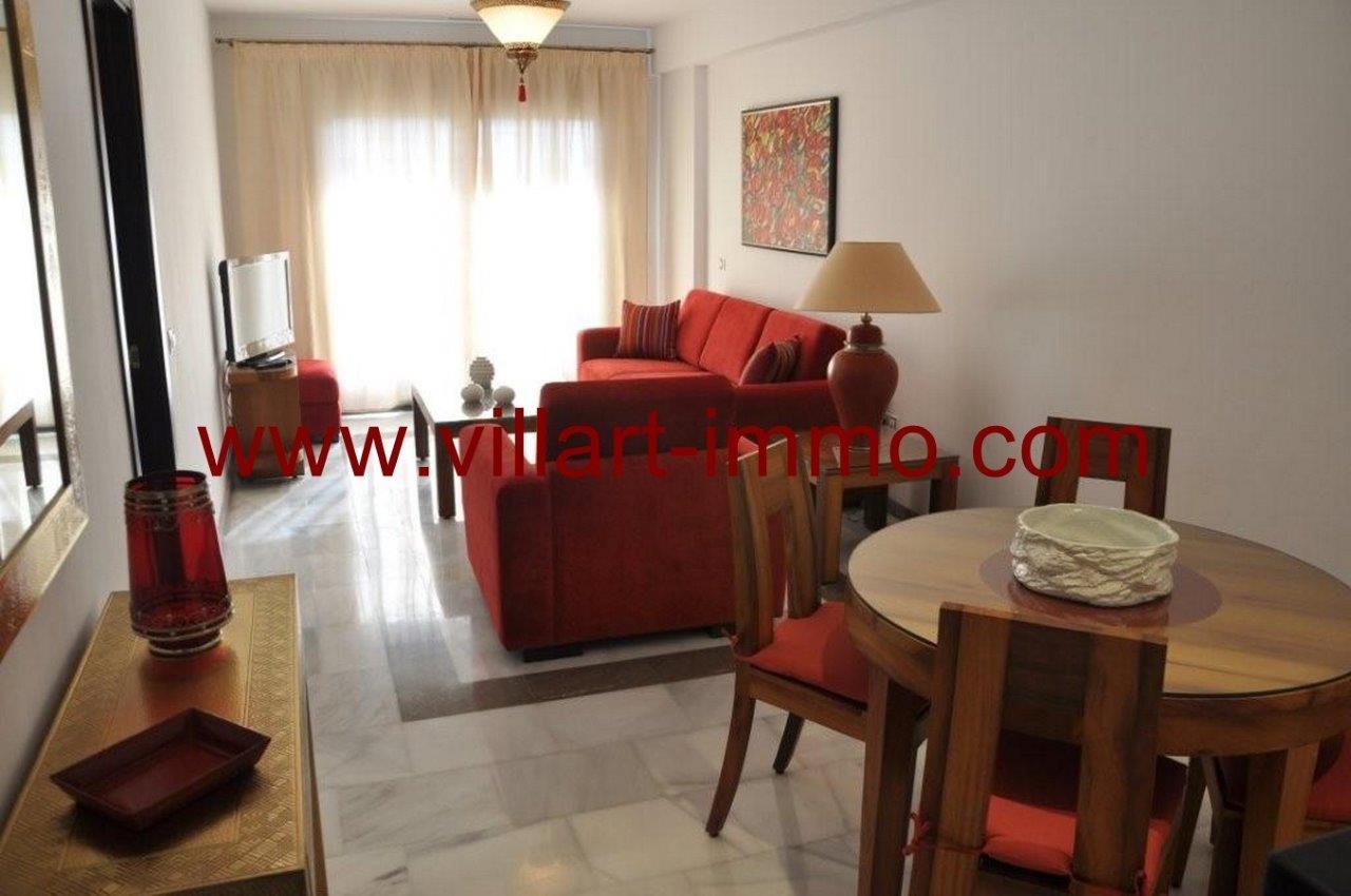 1-Vente-Appartement-Tanger-Salon 1-VA572-Villart Immo