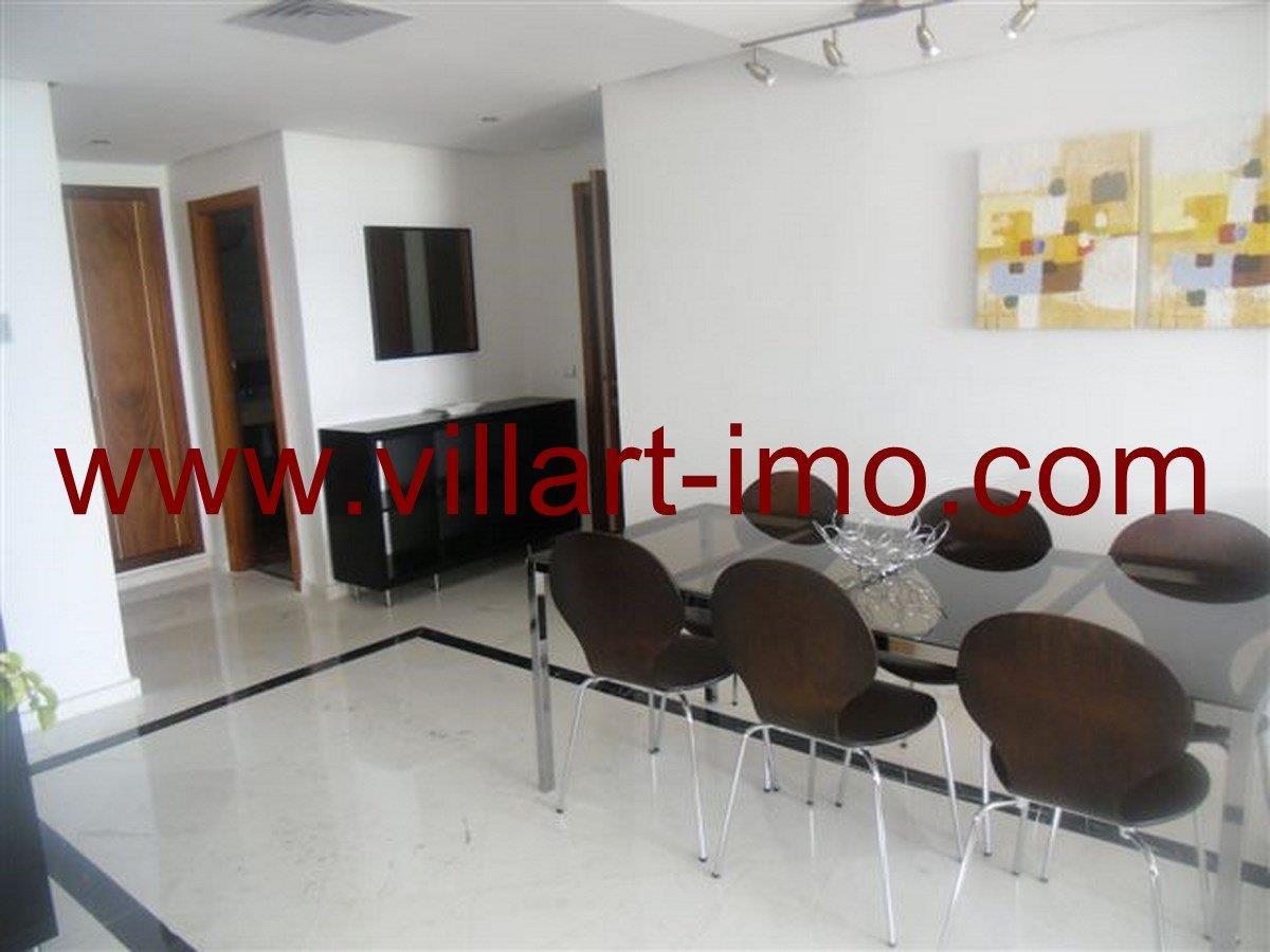 5-Vente-Appartement-Tanger-Salle à mangerVA573-Villart Immo