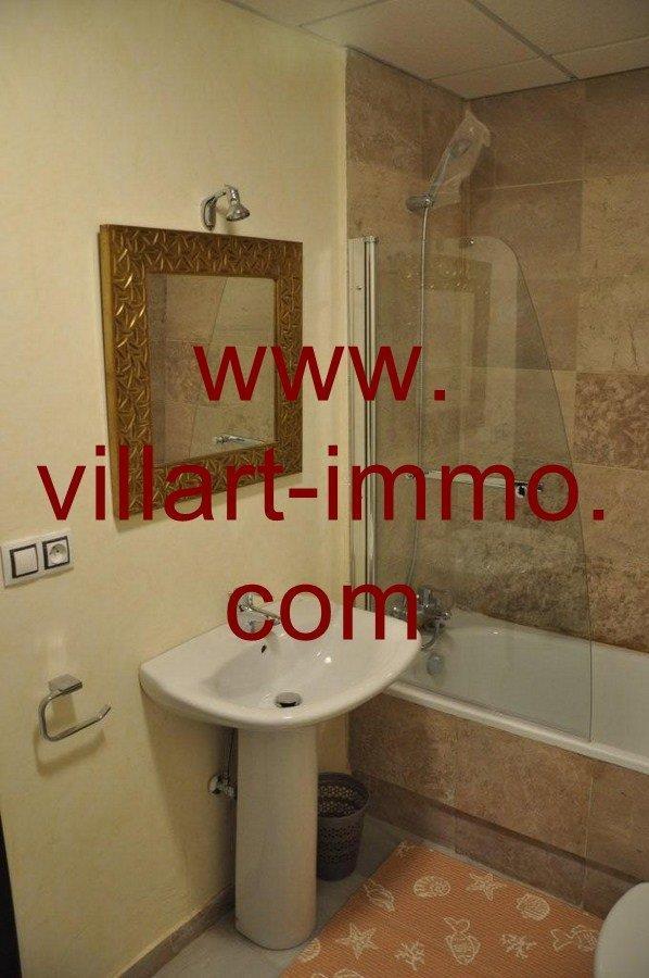 7-Vente-Appartement-Tanger-Salle de bain 2-VA572-Villart Immo