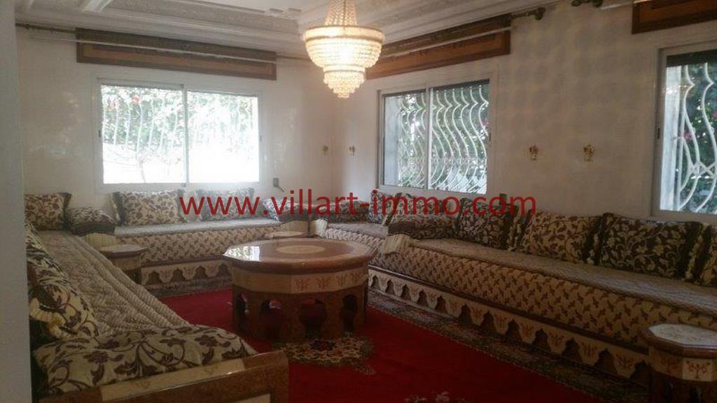 1-A louer Villa meublée-Tanger-Salon LV1105-Villart
