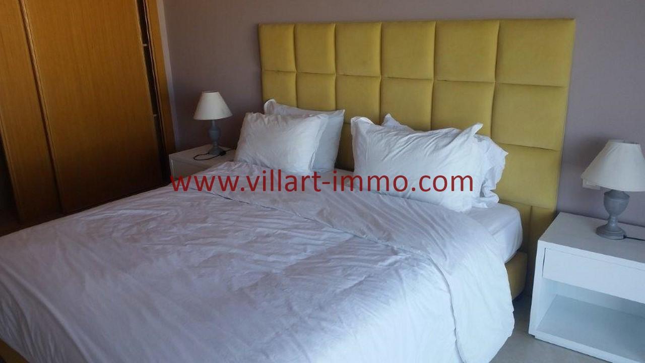 10-Location-appartement-meublé-Tanger-Chambre principale-L1107