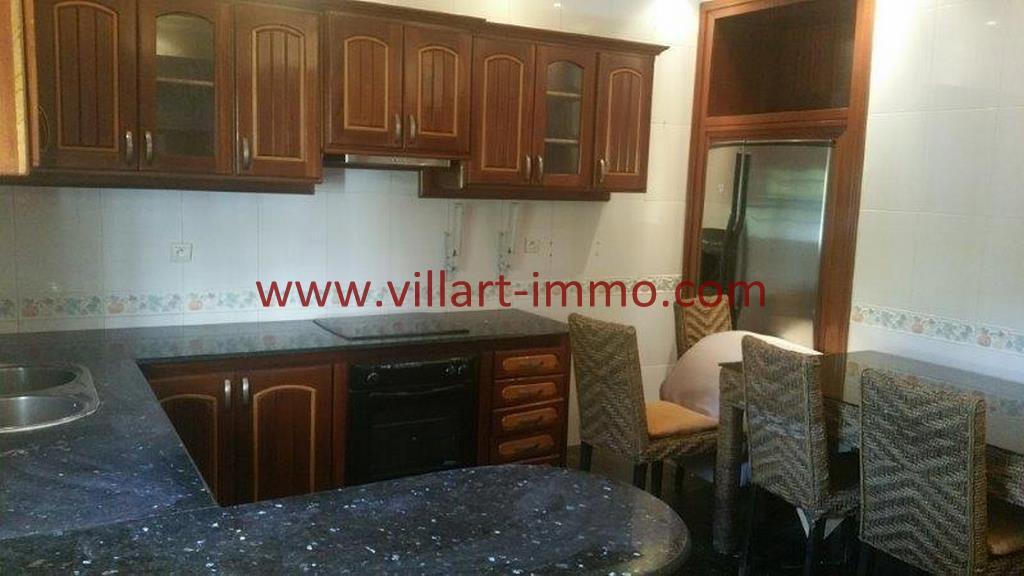 12-A louer Villa meublée-Tanger-Cuisine LV1105