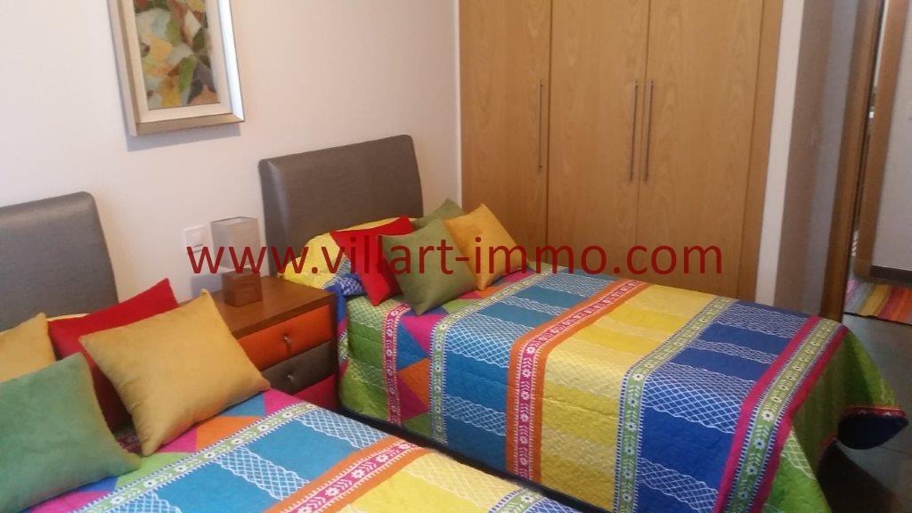 14-Location-Tanger-Appartement-Centre ville-Meublé-Chambre 1-L1113