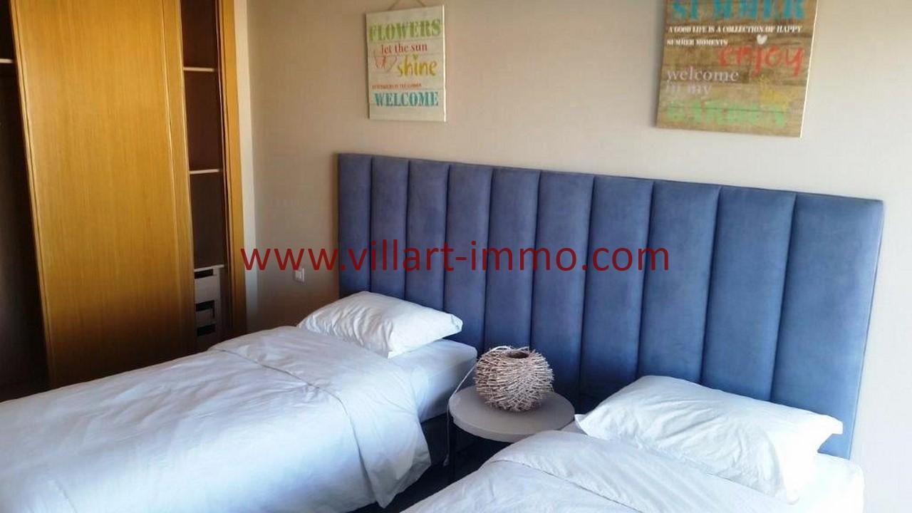 14-Location-appartement-meublé-Tanger-Chambre 2-L1107