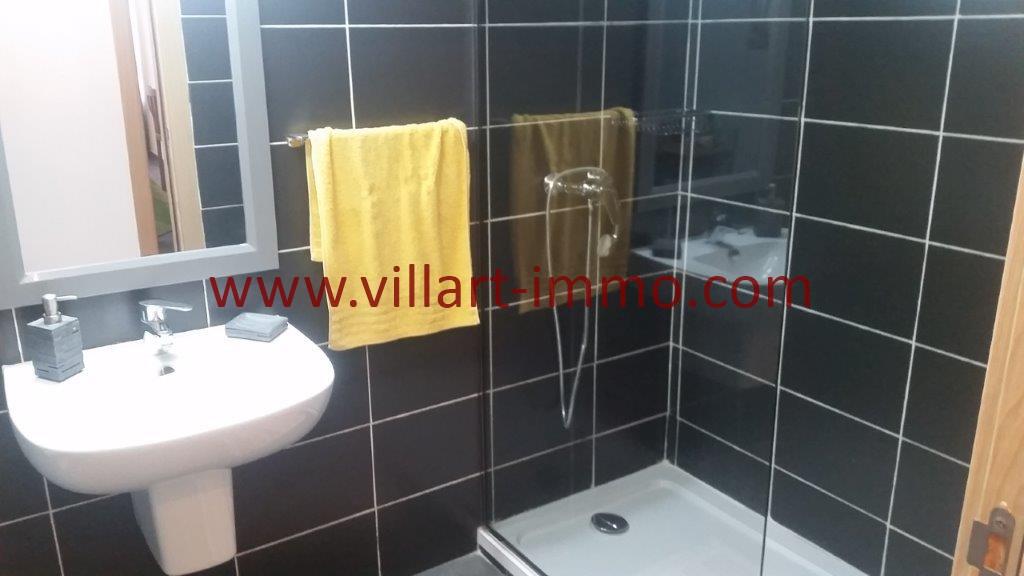 15-Location-Tanger-Appartement-Centre ville-Meublé-Salle de bain 1-L1113