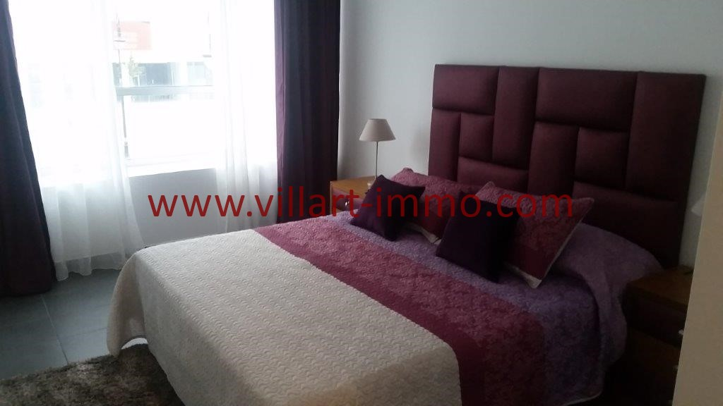 16-Location-Tanger-Appartement-Centre ville-Meublé-Chambre principale-L1113