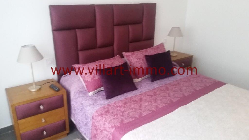 17-Location-Tanger-Appartement-Centre ville-Meublé-Chambre principale-L1113