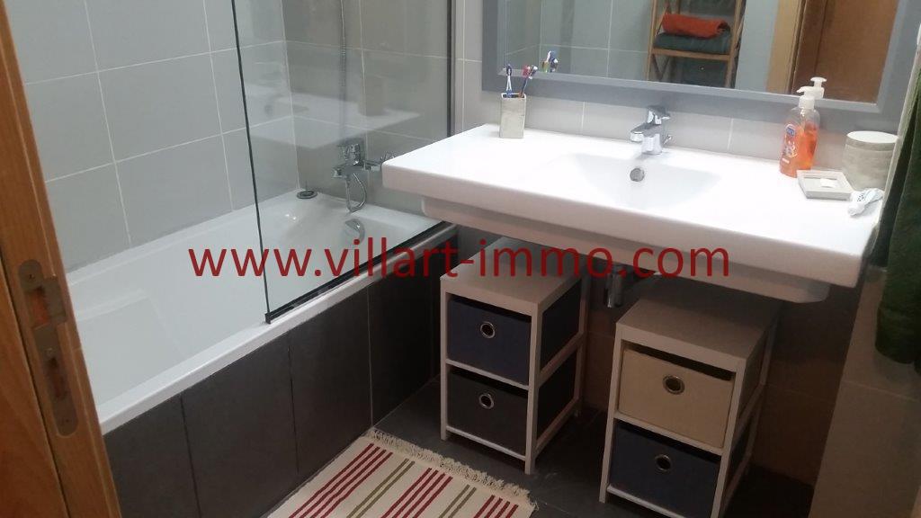 18-Location-Tanger-Appartement-Centre ville-Meublé-Salle de bain 2-L1113