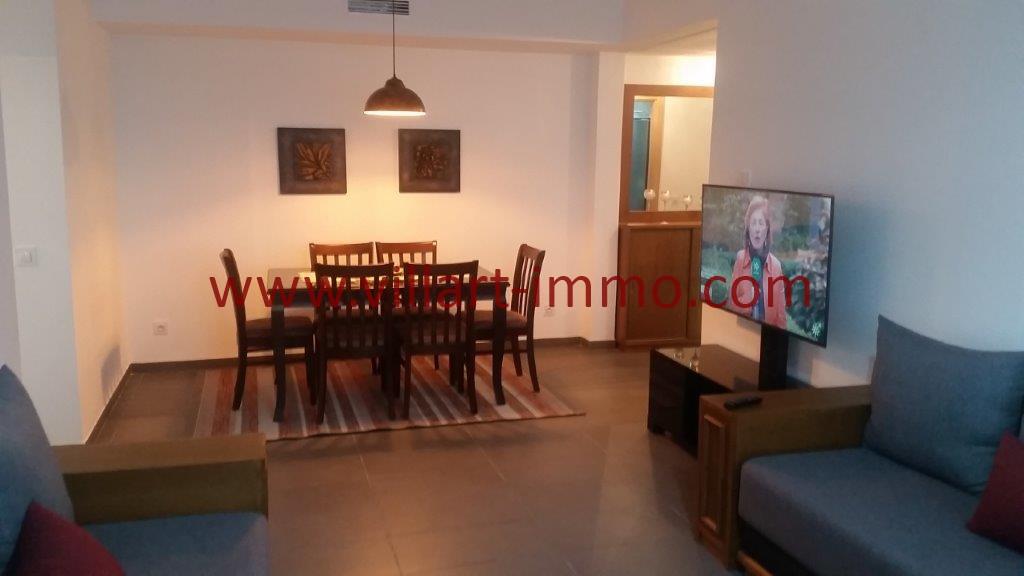 3-Location-Tanger-Appartement-Centre ville-Meublé-Sallle à manger-L1113