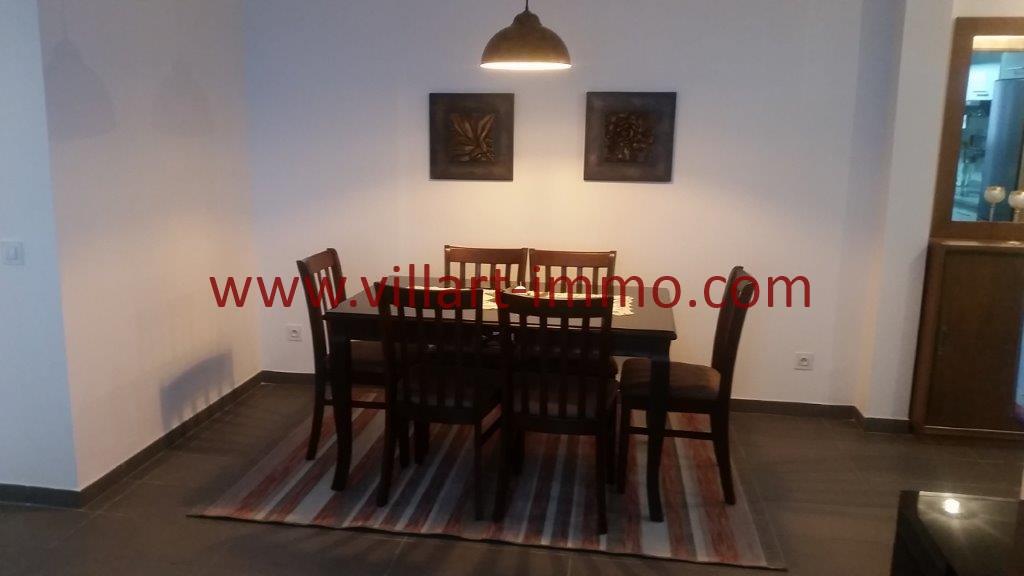 4-Location-Tanger-Appartement-Centre ville-Meublé-Sallle à manger-L1113
