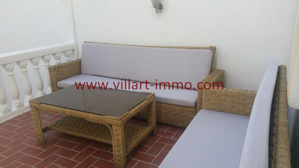 5-A louer Villa meublée-Tanger-Séjour d'été-LV1105