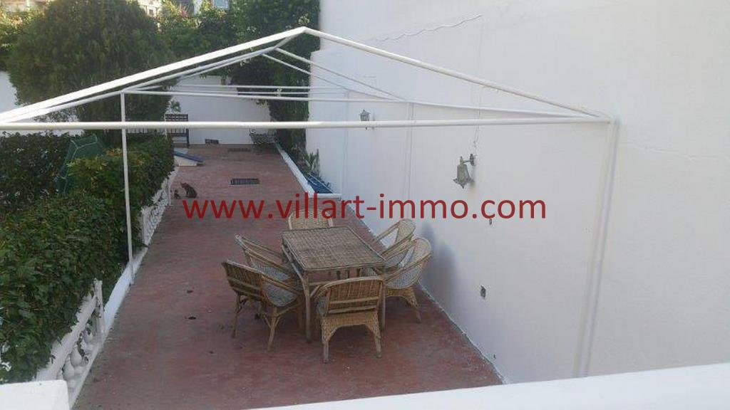 6-A louer Villa meublée-Tanger-Accès jardin-LV1105