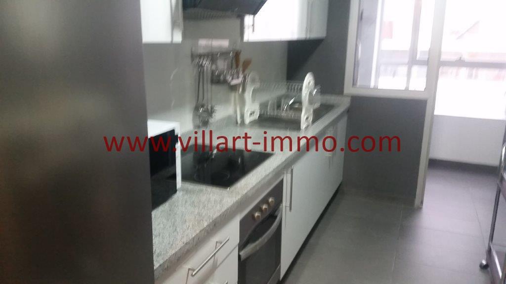 8-Location-Tanger-Appartement-Centre ville-Meublé-Cuisine-L1113