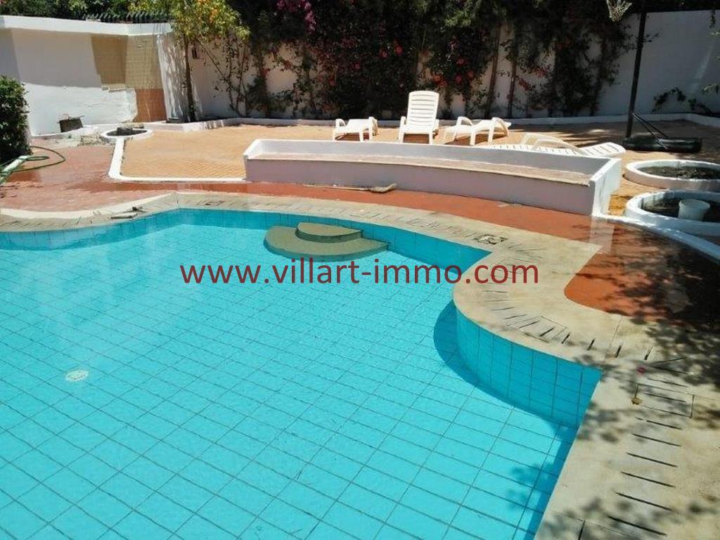 9-A louer Villa meublée-Tanger-Piscine-LV1105