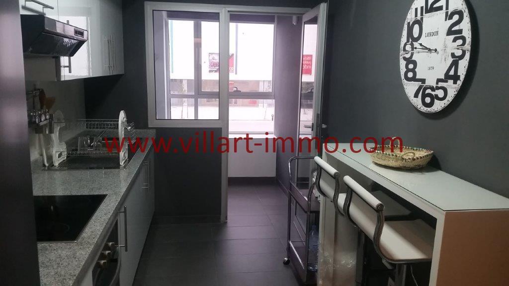 9-Location-Tanger-Appartement-Centre ville-Meublé-Cuisine-L1113