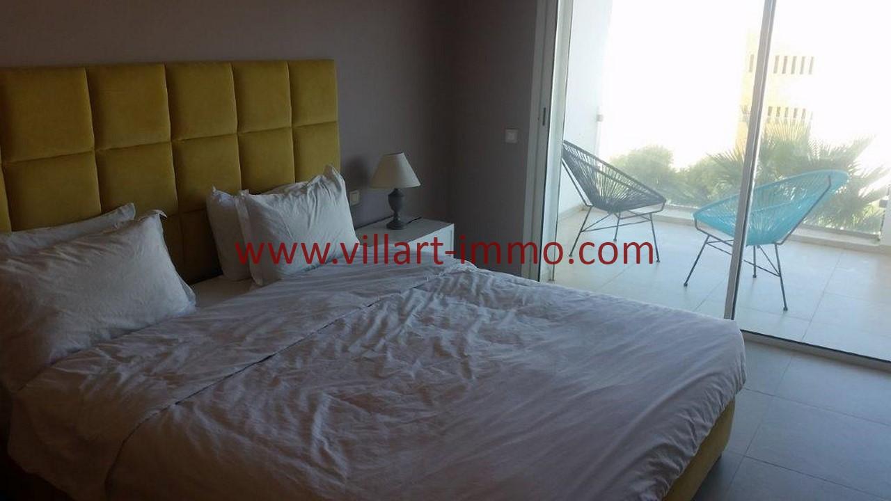 9-Location-appartement-meublé-Tanger-Chambre principale-L1107