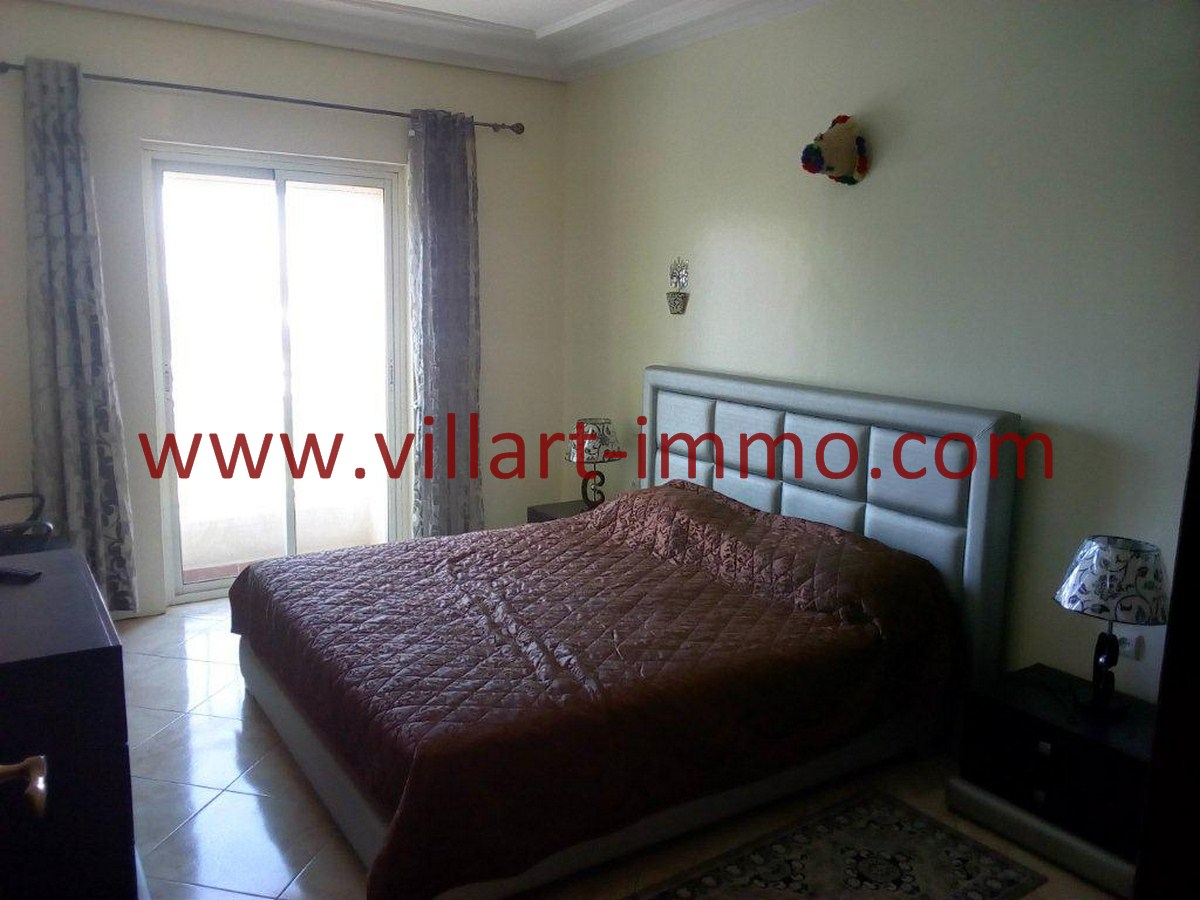 2-Vente-Appartement-Tanger-Centre-Chambre à coucher 1-VA578-Villart Immo