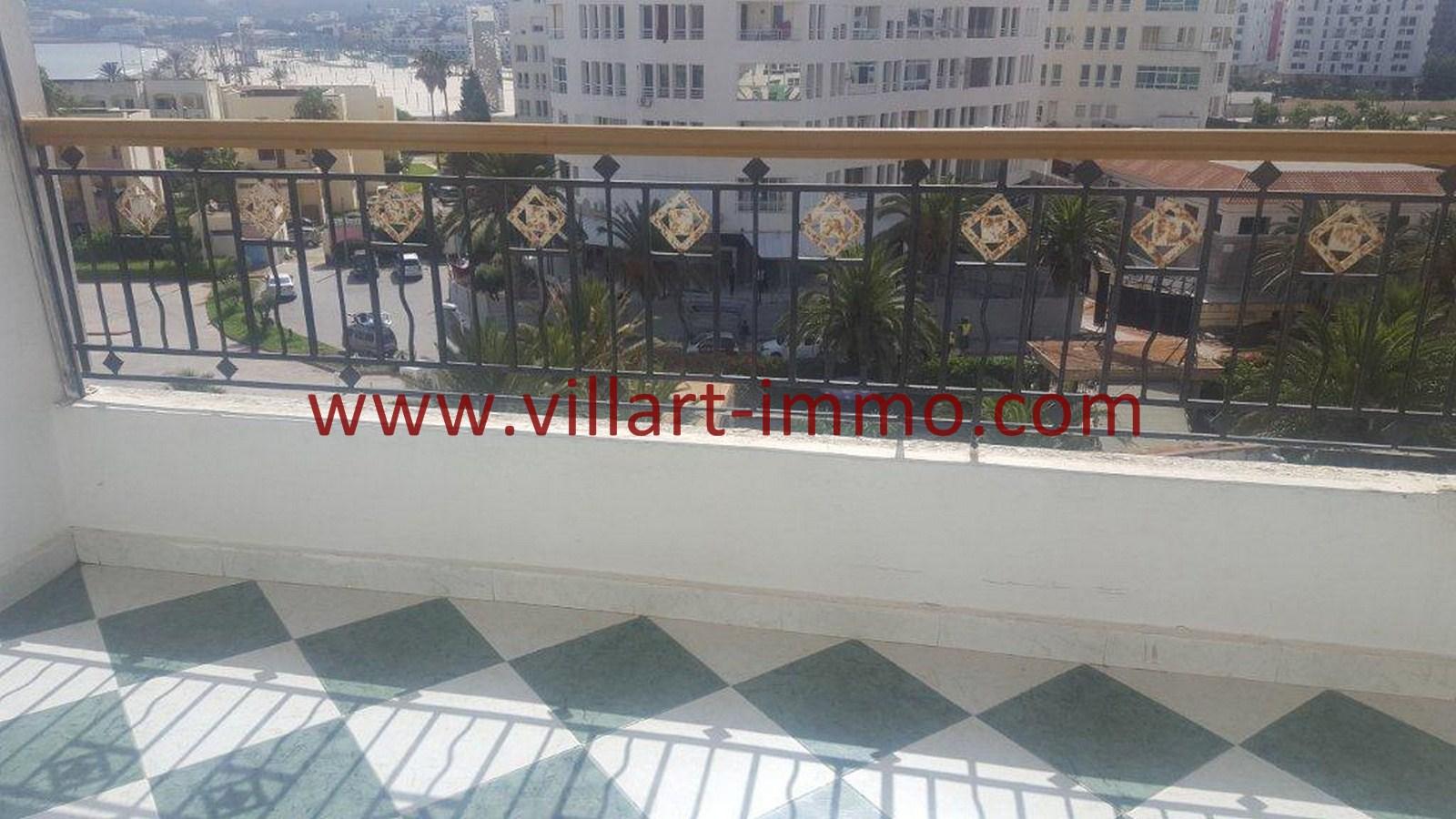 2-Vente-Appartement-Tanger-Malabata-Terrasse -VA507-Villart Immo
