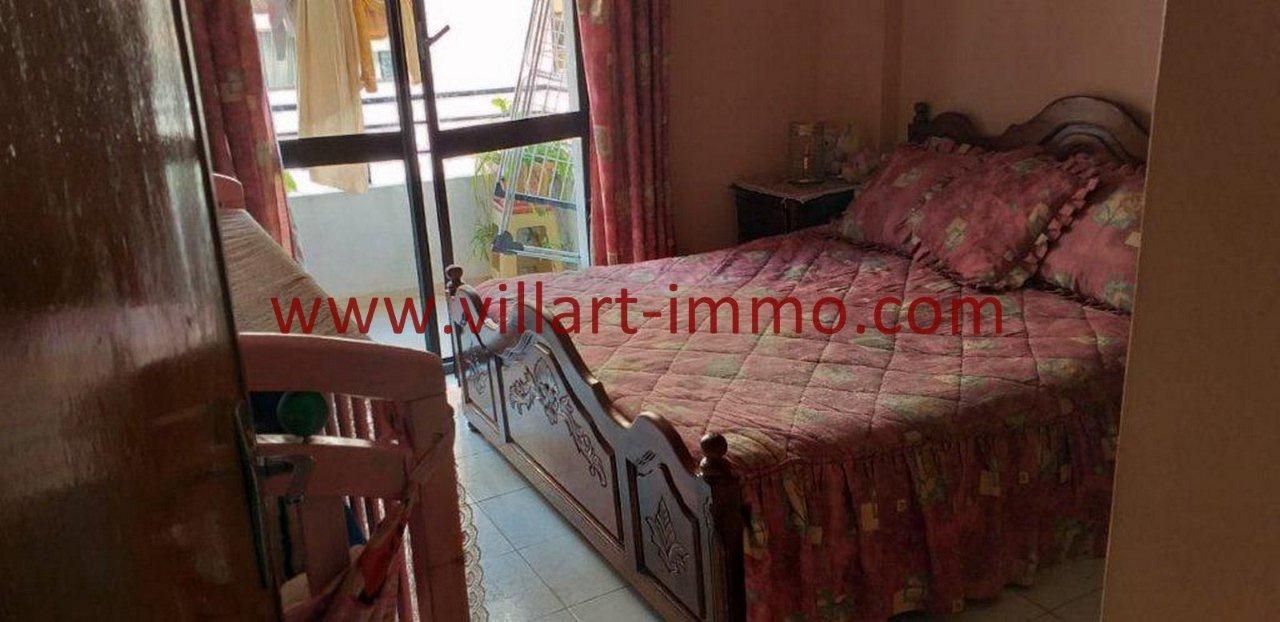 3-Vente-Appartement-Tanger-Centre-Chambre à coucher 1 -VA580-Villart Immo