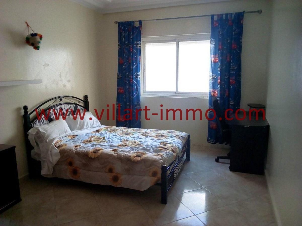 3-Vente-Appartement-Tanger-Centre-Chambre à coucher 2-VA578-Villart Immo