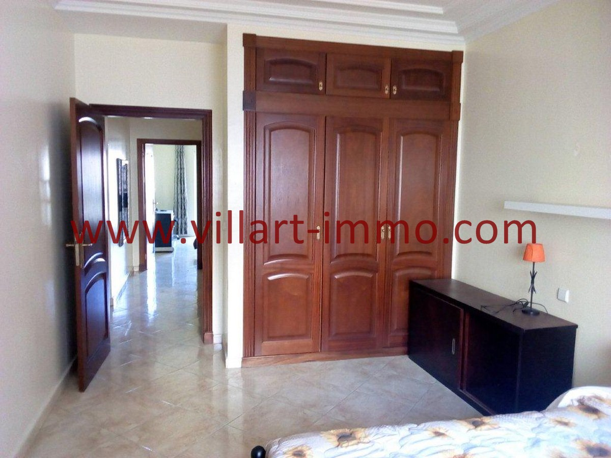 4-Vente-Appartement-Tanger-Centre-Chambre à coucher 3-VA578-Villart Immo