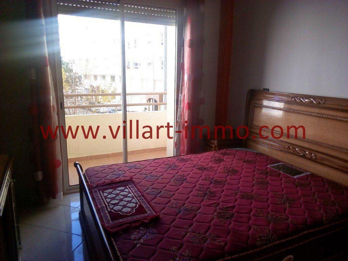 4-Vente-Appartement-Tanger-Val fleuri-Chambre à coucher 1-VA577-Villart Immo