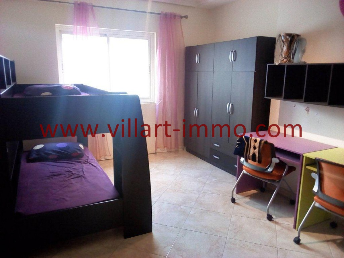 5-Vente-Appartement-Tanger-Centre-Chambre à coucher 4-VA578-Villart Immo