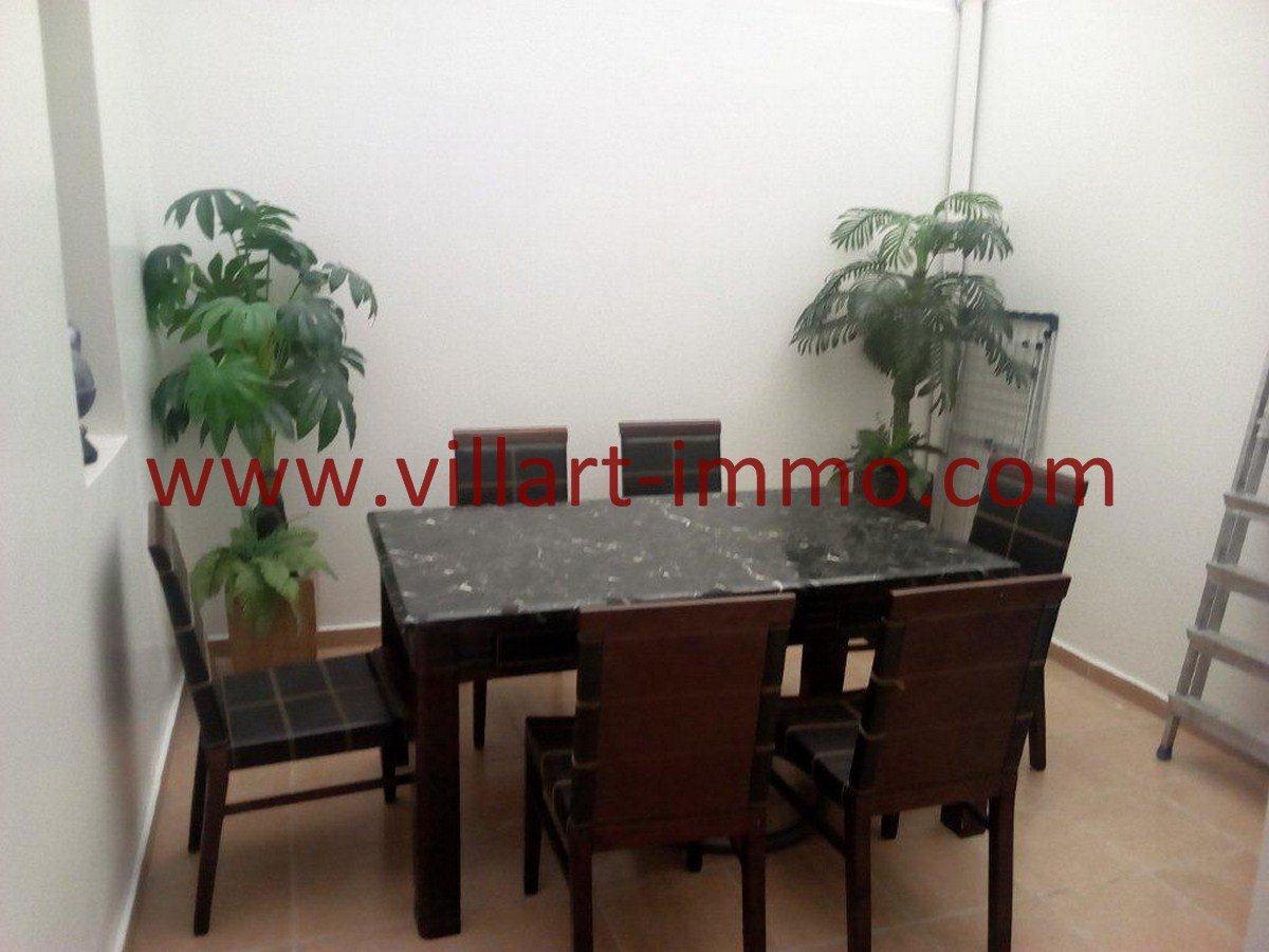 7-Vente-Appartement-Tanger-Val fleuri-Salle a manger-VA577-Villart Immo