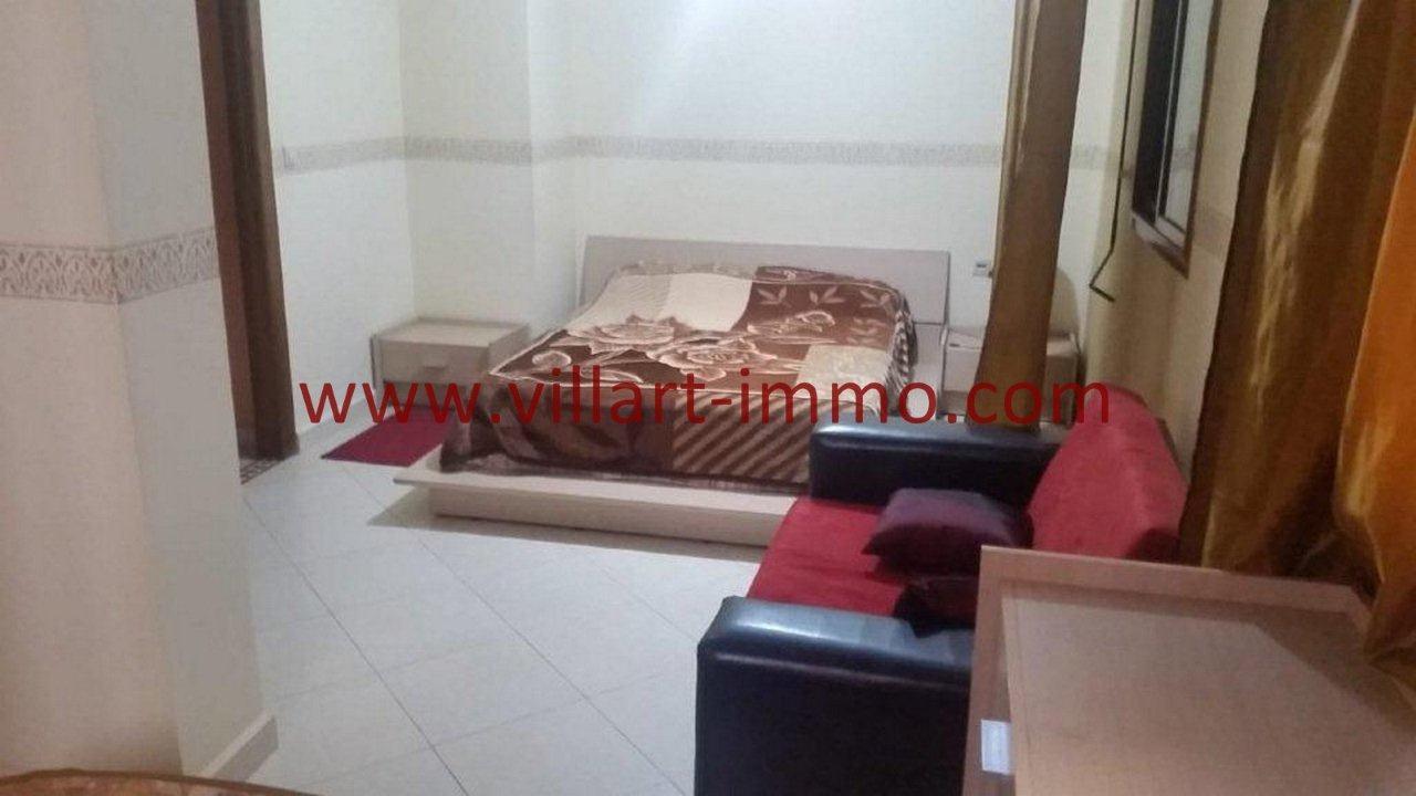 3-Vente-Appartement-Tanger-Chambre à coucher 1 -VA582-Villart Immo