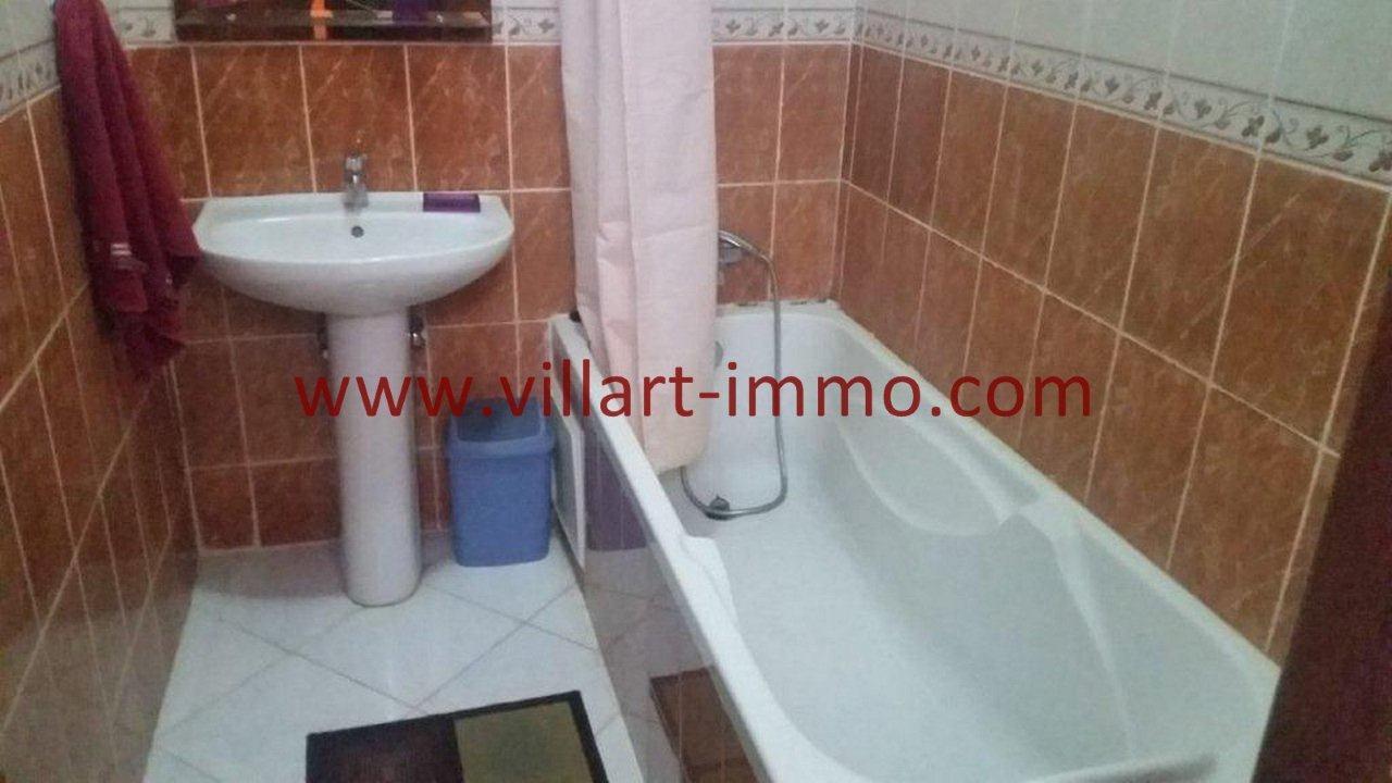 5-Vente-Appartement-Tanger-Salle de bain -VA582-Villart Immo