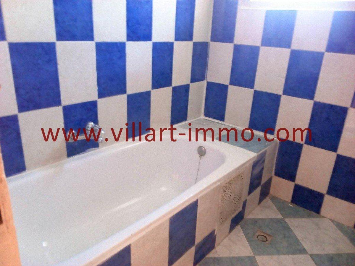 6-Vente-Appartement-Tanger-Salle de bain -VA581-Villart Immo