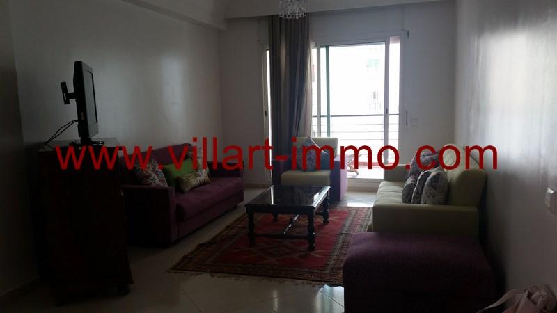 1-Location-Appartement-Meublé-Tanger-Malabata-Salon-L915-Villart immo
