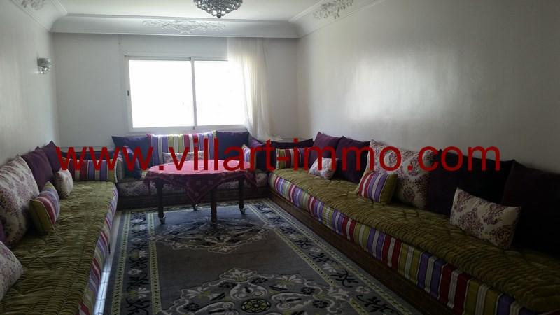 6-Location-Appartement-Meublé-Tanger-Malabata-Double salon-L915-Villart immo