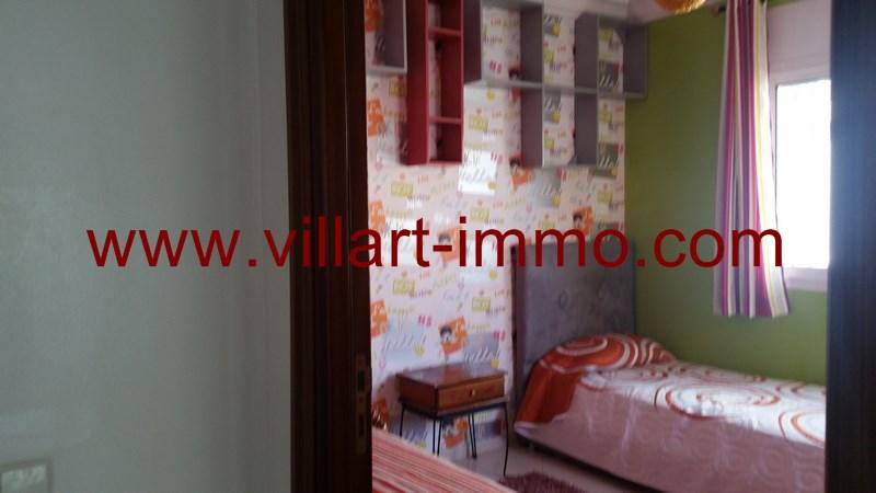 9-Location-Appartement-Meublé-Tanger-Malabata-Chambre 2-L915-Villart immo