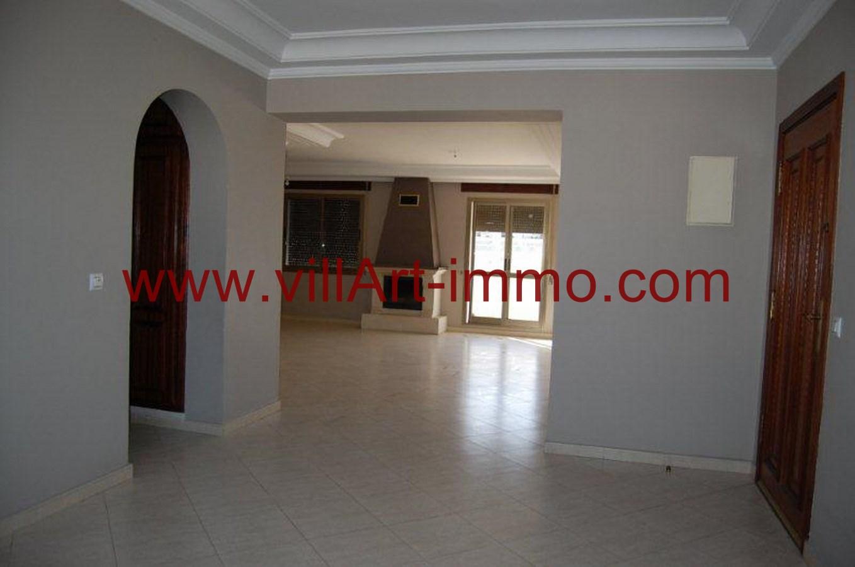 1-Location-Appartement-Non meublé-Tanger-Entrée-L734-Villart immo