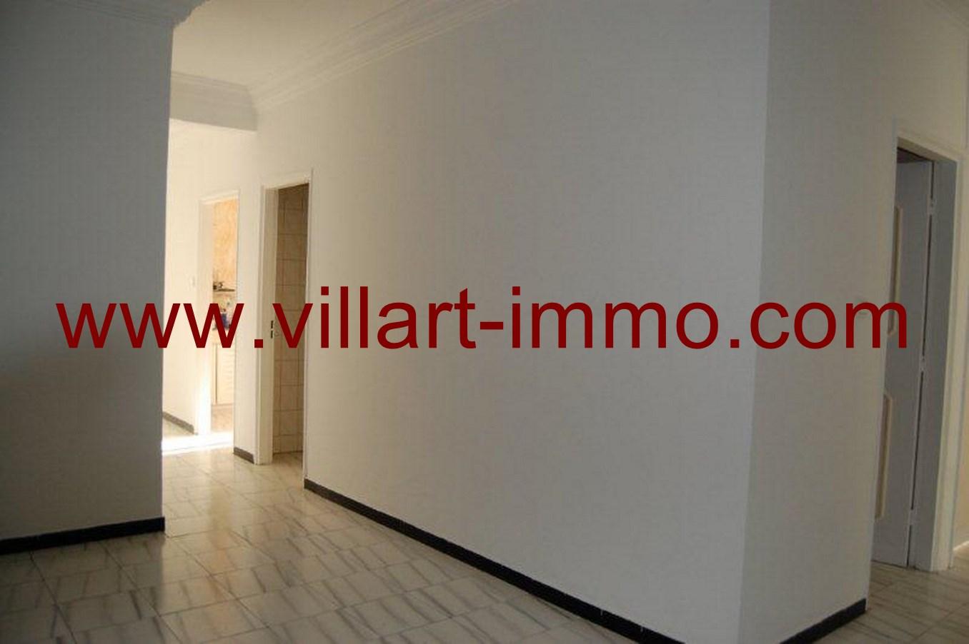 1-Location-Appartement-non meublé-Tanger-entrée-L615-Villart-immo