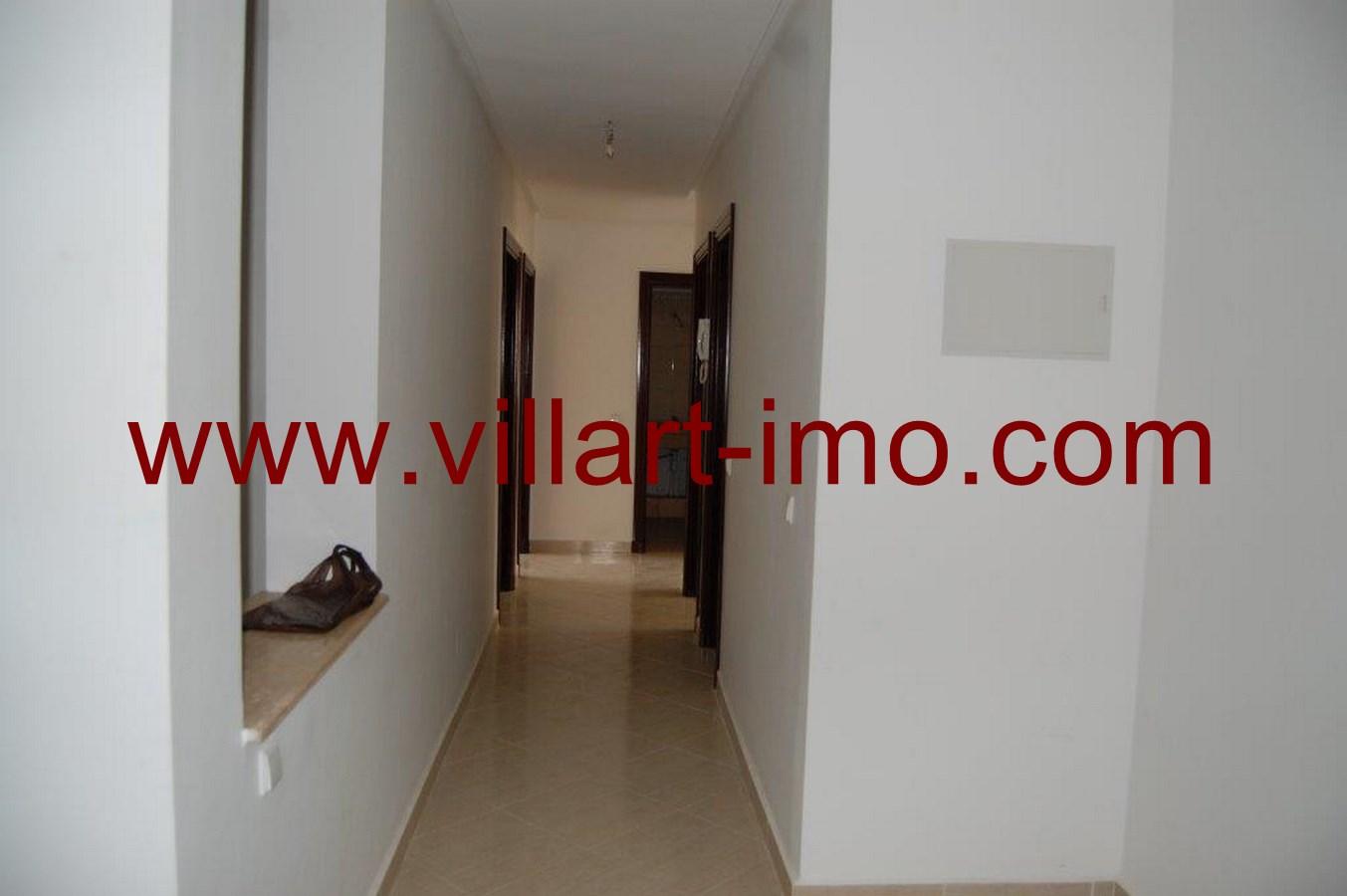 1-Location-Tanger-Appartement-Non meublé-Route de Rabat-L483-Couloir