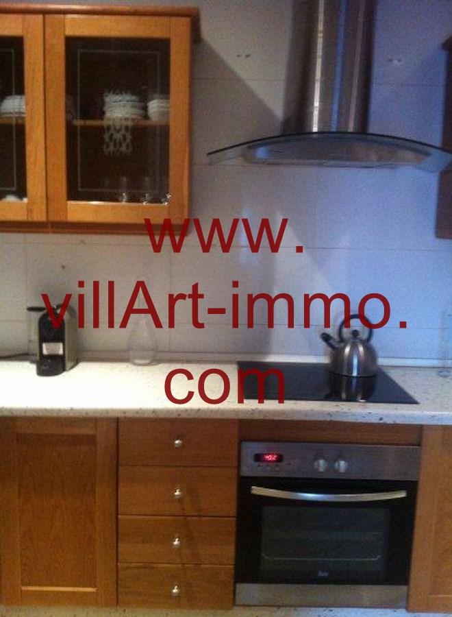 2-Location-Appartement-Meublé-Tanger-Cuisine-L748-Villart immo