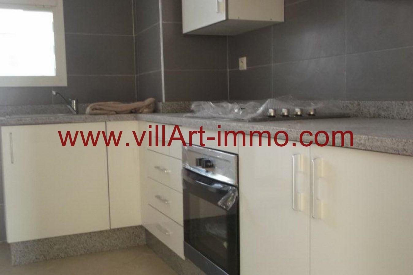 2-Location-Appartement-Non meublé-Tanger-Cuisine-L736-Villart immo