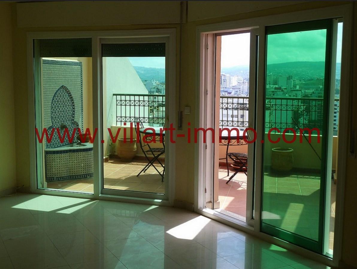 2-Location-Appartement-Non meublé-Tanger-Terrasse-L718-Villart immo